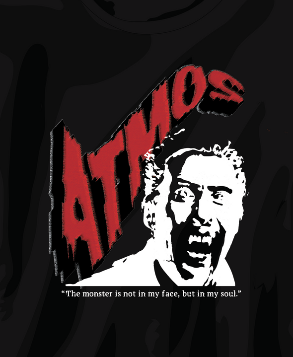 ATMOS HALLOWEEN DRACULA T-SHIRT - Black / Red