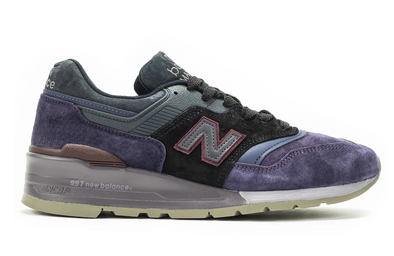 MEN'S NEW BALANCE MADE IN USA 997 - Royal Purple / Grey
