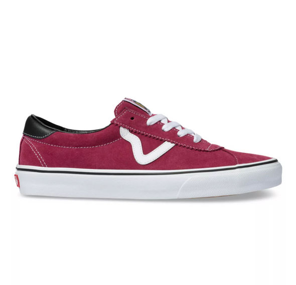 VANS SPORT - Beet Red / True White