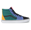 "MEN'S VANS UA SK8-Hi ""MIX & MATCH"" - CADMIUM YELLOW/TIDEPOOL"