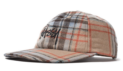 STUSSY BIG LOGO PLAID LOW PRO - Multi