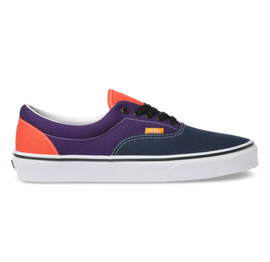 "MEN'S VANS UA ERA ""MIX & MATCH"" - VIOLET INDIGO/FOREST NIGHT"