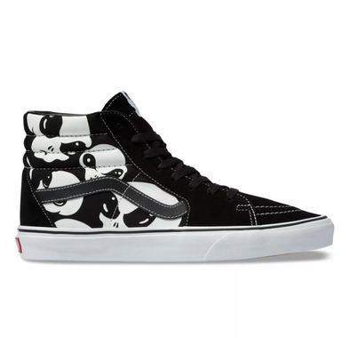 "MEN'S VANS SK8-HI UA ""ALIEN GHOSTS"" - BLACK/WHITE"