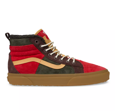 VANS SK8-HI 46 MTE DX - Poinsettia / Forest Night