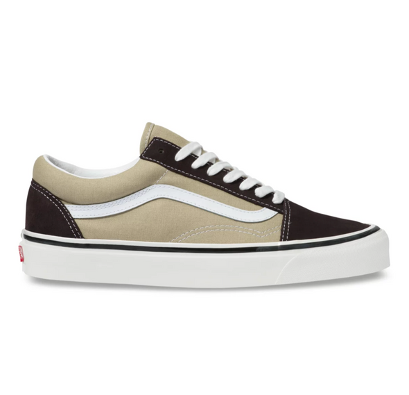 VANS ANAHEIM FACTORY OLD SKOOL 36 DX - OG Khaki / OG Chocolate