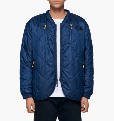 MEN'S TNF KK BLACK SERIES PADDED QUILT CARDIGAN - URBAN NAVY
