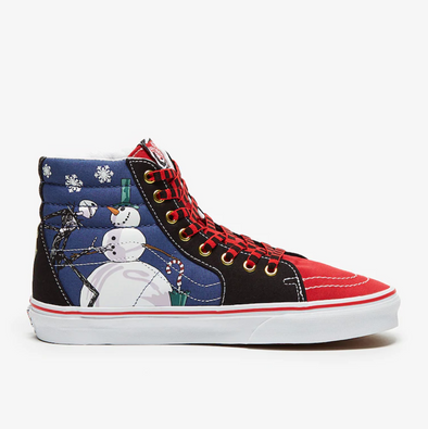 VANS x NIGHTMARE BEFORE CHRISTMAS SK8 - Hi - XMAS THEME