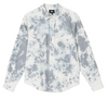 STUSSY BLEACHED HICKORY STRIPE SHIRT - Blue
