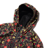 ATMOS x TIMBERLAND SCARF WATERPROOF HOODED JACKET - Black / Red / Gold