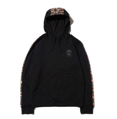 ATMOS x TIMBERLAND SCARF HOODIE - Black / Red / Gold