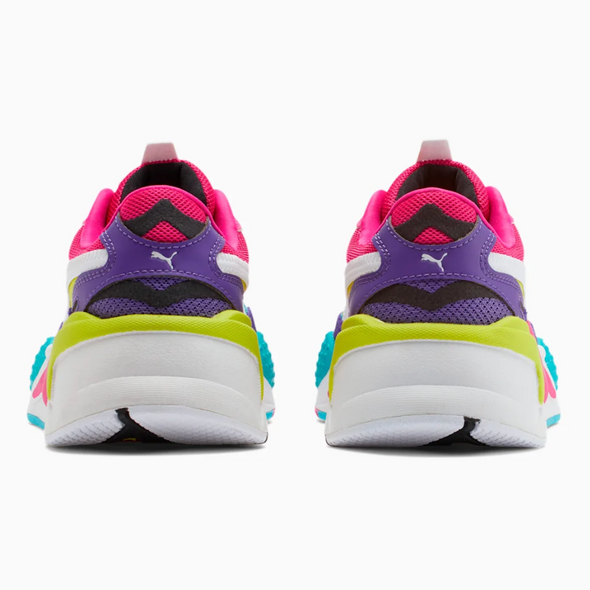 WOMEN'S PUMA RS-X3 RUBIKS - Berry/Lime