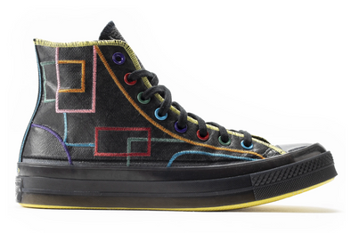 "MEN'S CONVERSE ""CHINESE NEW YEAR"" CHUCK 70 HI - BLACK/BLACK/OPTI YELLOW"