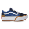 VANS UA OLD SKOOL STACKED - NAVY/TRUE WHITE