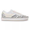MEN'S VANS UA COMFYCUSH SLIP-SKOOL (CHECKERBOARD) - BLACK/WHITE