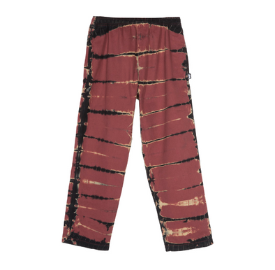 MEN'S STUSSY RIP DYE BEACH PANT - BRICK