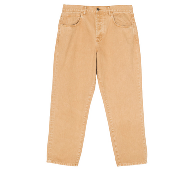 MEN'S STUSSY HEAVY WASH BIG OL' JEANS - GOLD