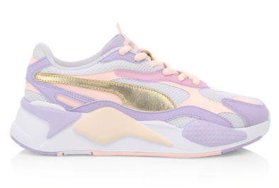 WOMEN'S PUMA RS-X3 C&S - Rosewater / Puma Gold