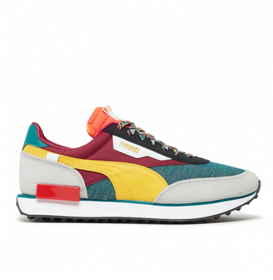 PUMA FUTURE RIDER MIX - Teal Green / Burnt Russet