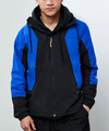 MEN'S TNF PERIL WIND JACKET - TNF BLACK/TNF BLUE/TNF BLACK