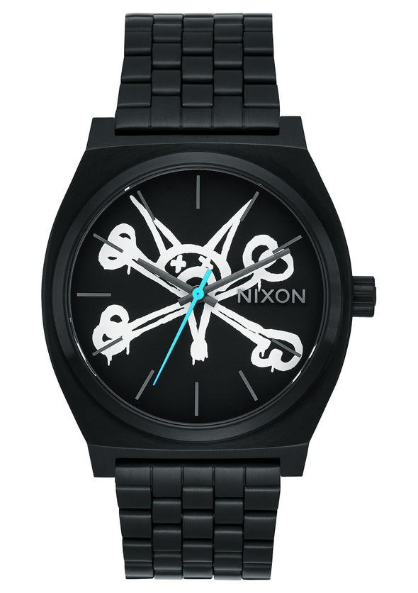 "Nixon x Powell Peralta Time Teller ""VATO RAT"" - BLACK (Limited Edition)"
