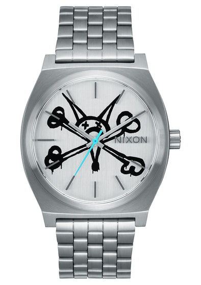 "Nixon x Powell Peralta Time Teller ""VATO RAT"" - SILVER (Limited Edition)"