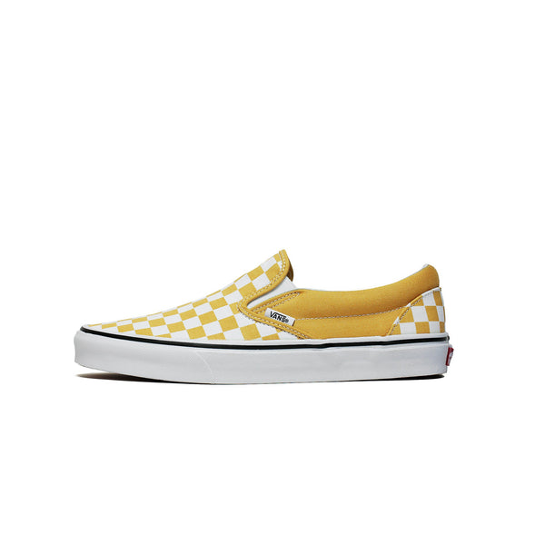 VANS CLASSIC SLIP-ON - Checkerboard Yellow – Atmos New York 28b794819