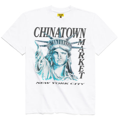 CHINATOWN MARKET NYC TEE - WHITE