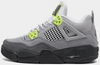 AIR JORDAN 4 RETRO SE (GS) - COOL GREY/VOLT-WOLF GREY-ANTHRACITE