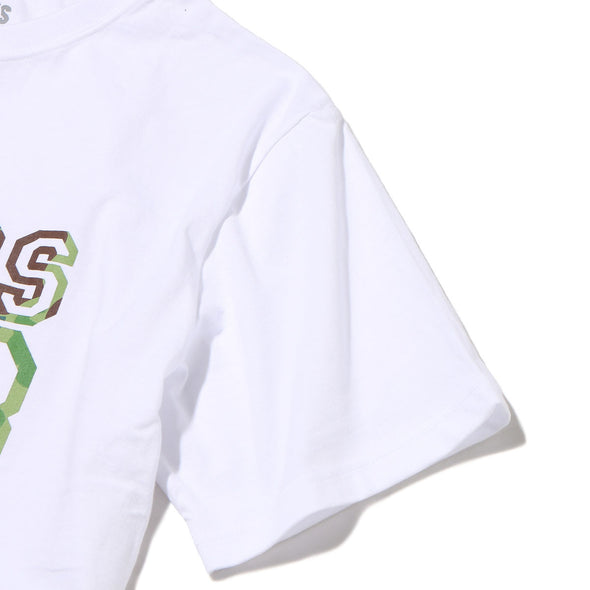 Atmos Lab Duck Camo College Tee White / Green