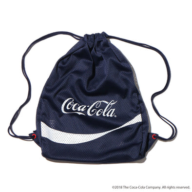 ATMOS LAB COCA - COLA by ATMOS LAB GYM SACK - Navy