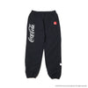 ATMOS LAB COCA - COLA by ATMOS LAB DRD NYLON TRACK PANTS - Black