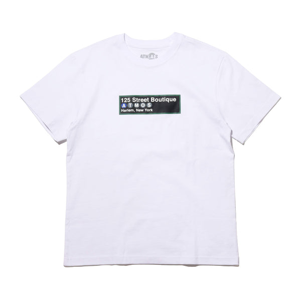 ATMOS LAB SUBWAY TEE - White