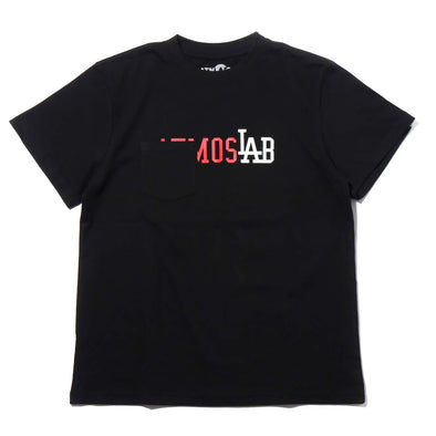 ATMOS LAB POCKET TEE - Black