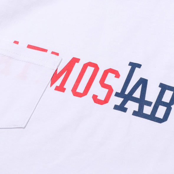 ATMOS LAB POCKET TEE - White