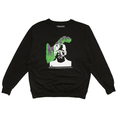 ATMOS HALLOWEEN FRANKENSTEIN CREWNECK - Black / Green