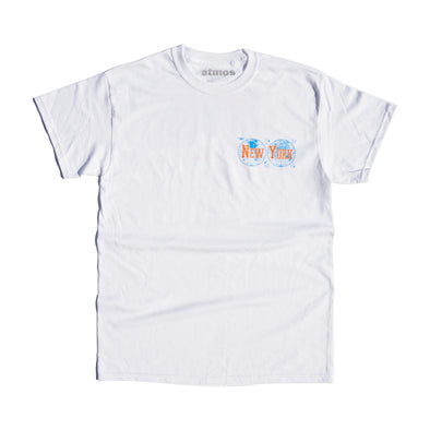 ATMOS NEW YORK EXCLUSIVE GLOBAL LOCATIONS TEE - White