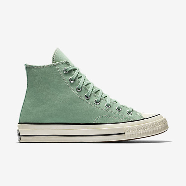 CONVERSE CHUCK TAYLOR ALL STAR '70 VINTAGE CANVAS HIGH TOP - JADE/BLACK