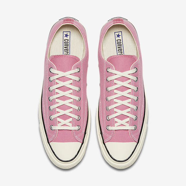 ded9cdd58d38 CONVERSE CHUCK TAYLOR ALL STAR  70 VINTAGE CANVAS LOW TOP - ROSE ...