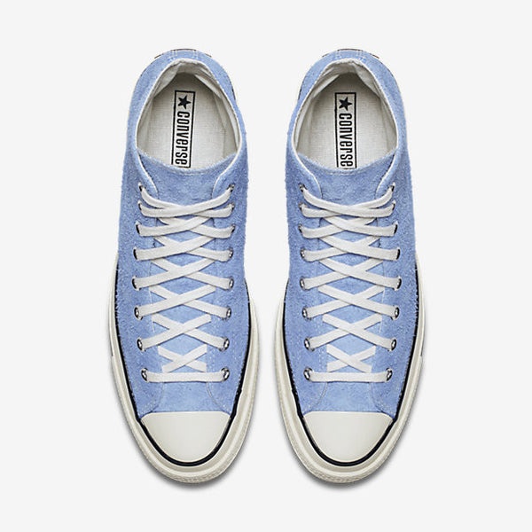 22f04ba82bc ... CONVERSE CHUCK TAYLOR ALL STAR  70 VINTAGE SUEDE HIGH TOP - PIONEER BLUE    EGRET ...