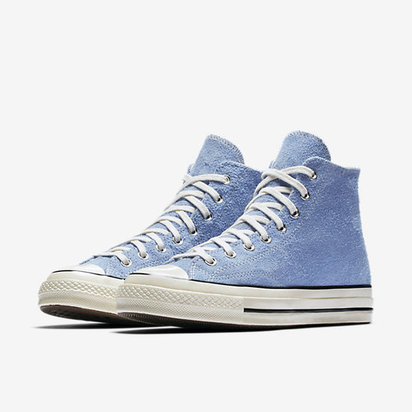 81159354b7c0 ... CONVERSE CHUCK TAYLOR ALL STAR  70 VINTAGE SUEDE HIGH TOP - PIONEER BLUE    EGRET ...
