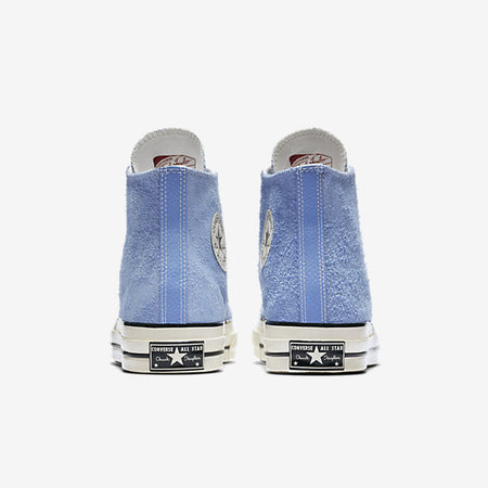 b92cd911be6b ... CONVERSE CHUCK TAYLOR ALL STAR  70 VINTAGE SUEDE HIGH TOP - PIONEER BLUE    EGRET