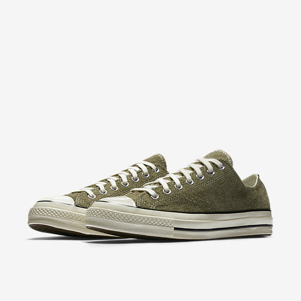 Star Chuck Olieve Vintage Converse Egret Top Medium All '70 Taylor Suede Low mNPvny08wO