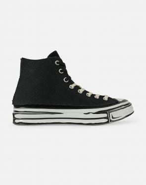 CONVERSE X JOSHUA VIDES CHUCK 70 HIGH TOP- BLACK/WHITE/BLACK