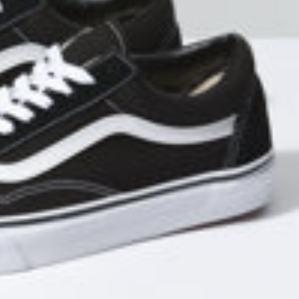 VANS CLASSIC OLD SKOOL - Black/White
