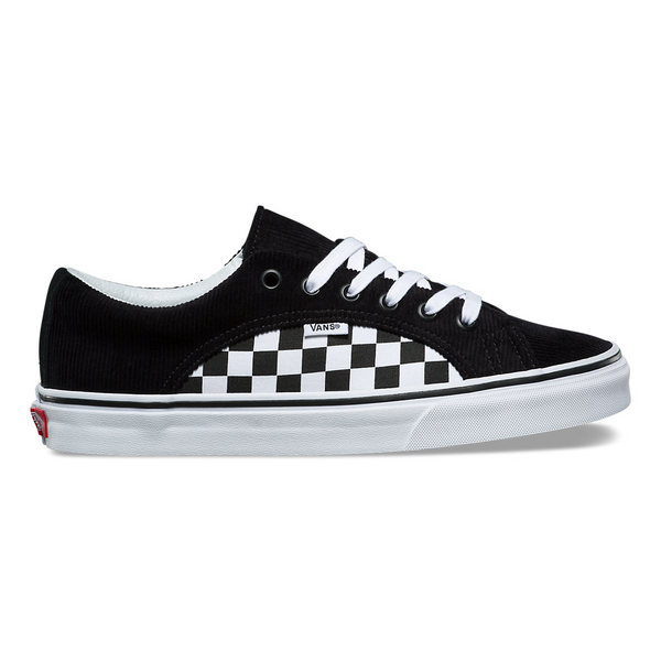 VANS CHECKER CORD LAMPIN - Black/White