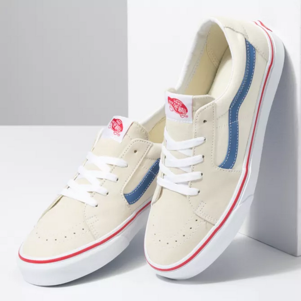 MEN'S VANS UA SK8-Low - CLASSIC WHITE/NAVY