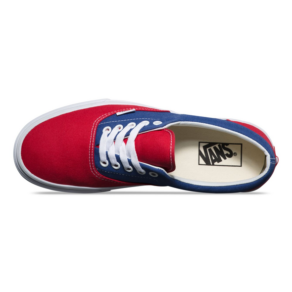 VANS BMX CHECKERBOARD ERA - Blue / Red Checkerboard