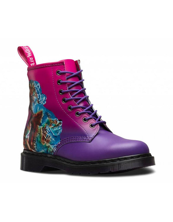 "DR. MARTENS 1460 NEW ORDER ""TECHNIQUE"" - Purple"