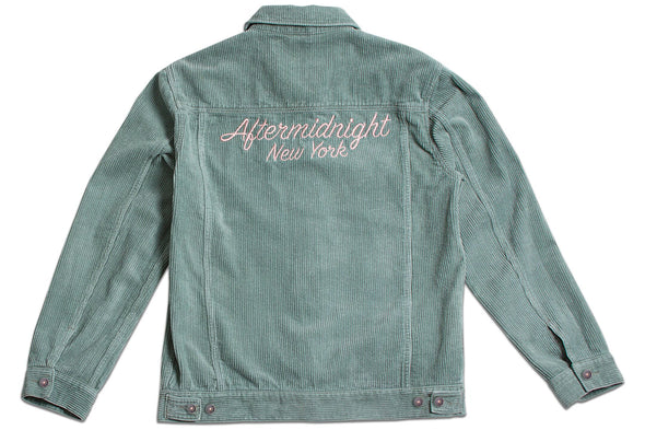 AFTER MIDNIGHT CORDUROY JACKET - Mint