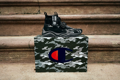 MEN'S CHAMPION RALLY LOCKDOWN - BLACK CAMO